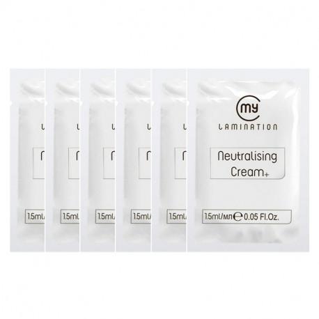 Набор составов №2 в саше 6 шт по 1,5 мл Neutralising Cream+ My Lamination для ламинирования ресниц