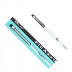 Профессиональная прямая кисть In Lei PICASSO для ресниц и бровей