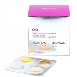 Упаковка составов LVL Lashes, 15 блистеров