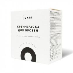 Набор из 4 крем-красок для бровей OKIS BROW и 4 окислителей с экстрактом хны