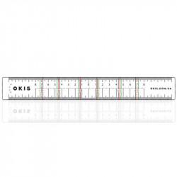 Линейка OKIS BROW для разметки формы бровей