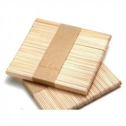Шпатель деревянный одноразовый, 100 шт