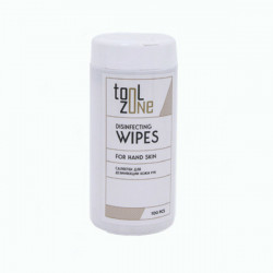 Салфетки дезинфектант для рук Tool Zone 100 шт